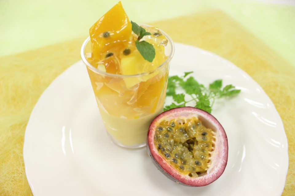 ラ パッション~パッションフルーツのムース~