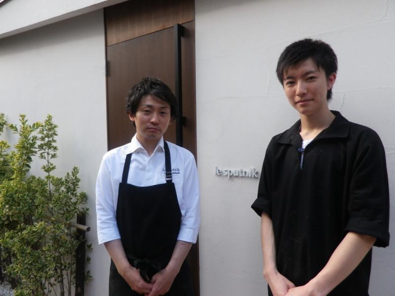 シェフ学科2年イタリアフランス料理コース 五十嵐 雅斗君(新津南高校)が、東京六本 木ル スプートニク厨房でインターンシップ!