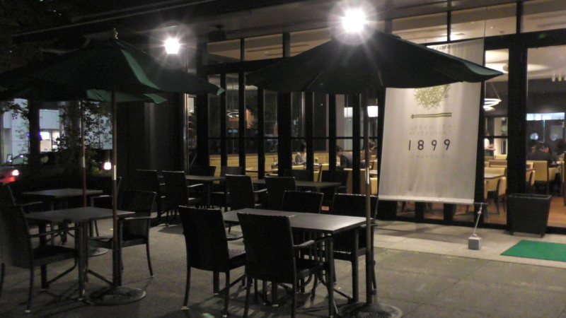 カフェ学科1年 芳賀高名君 東京御茶ノ水 グリーンティーレストラン OCHANOMIZU1899にてインターンシップ