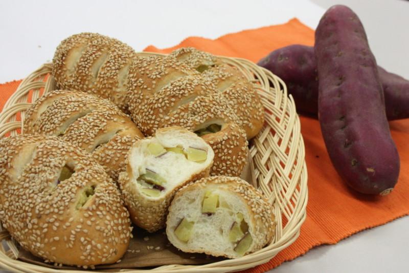 9月19日さつま芋パン
