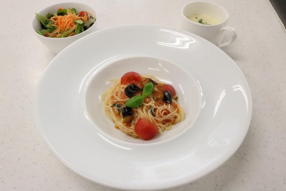 ★0801トマト冷製パスタ
