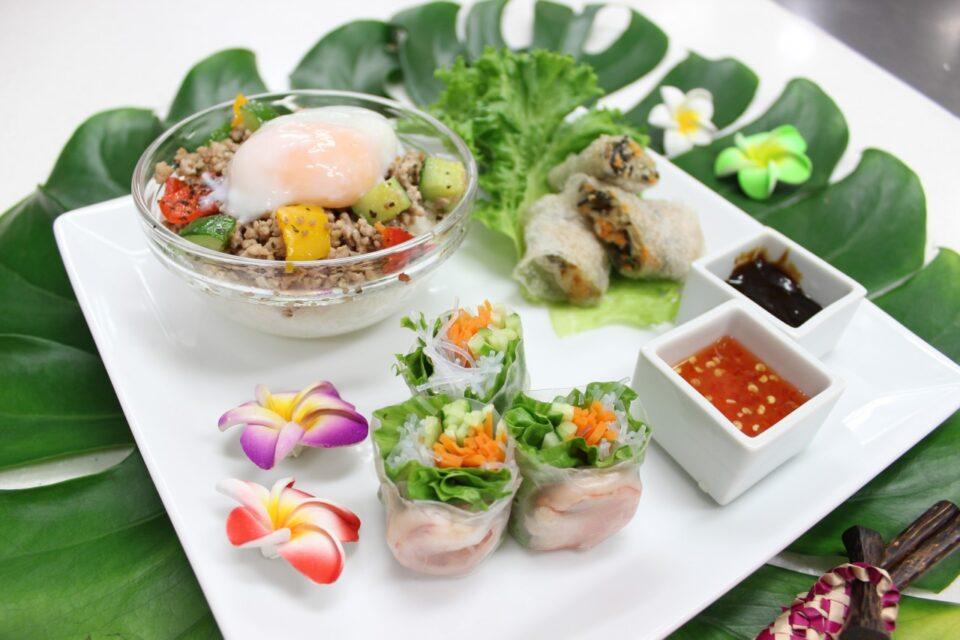 Foodオリジナルアジアンプレート (3)
