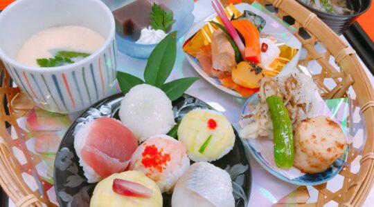 寿司手毬寿司