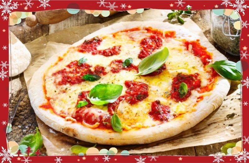 クリスマス ピザ