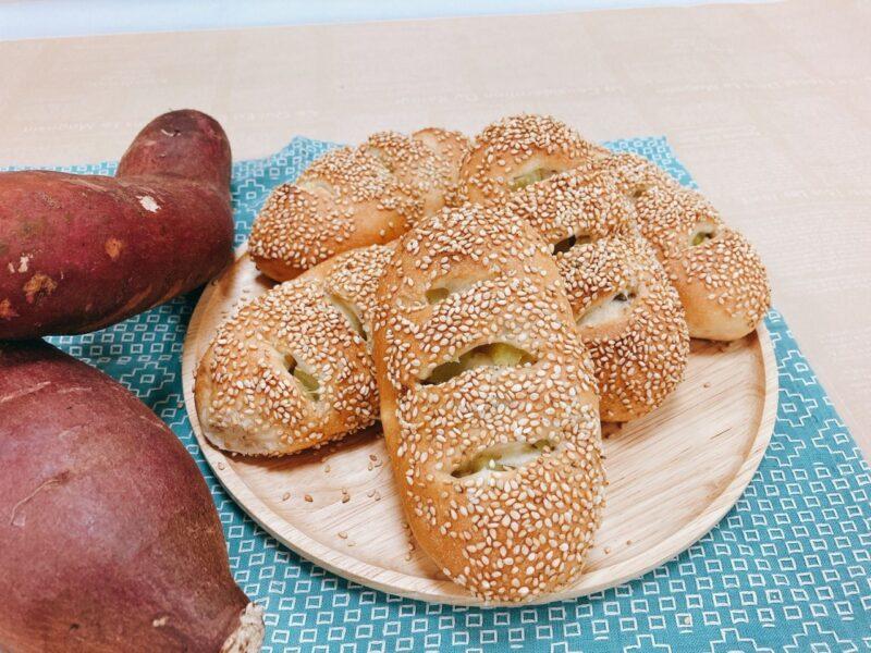 さつまいもパン